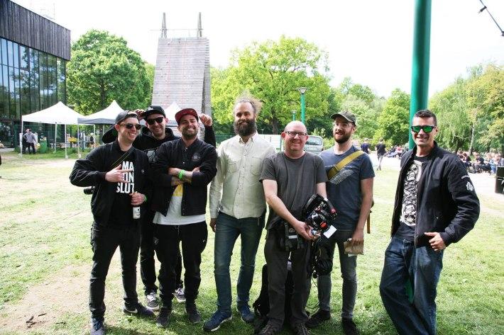 Adam Vandal, TmH, Ryke, Cuckoo, Nick Batt (Sonicstate), DJ Alert